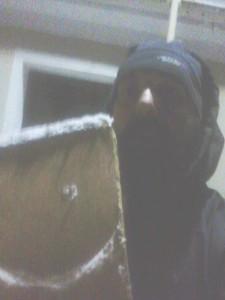 Schneeschaufel, Nacht und ich